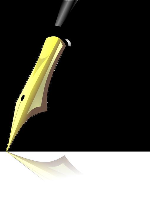 Free Vector Graphic Filler Pen Fountain Pen Author