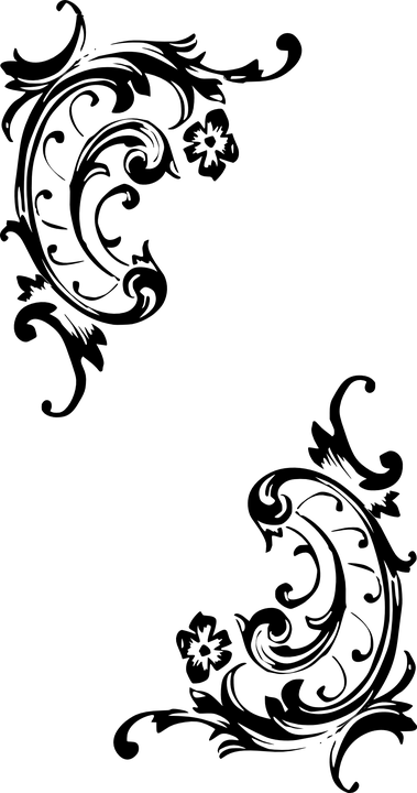 Bettwasche Barock Muster ~ Kostenlose vektorgrafik barock muster stil polka ecke
