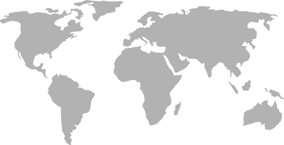 world map earth global continents world