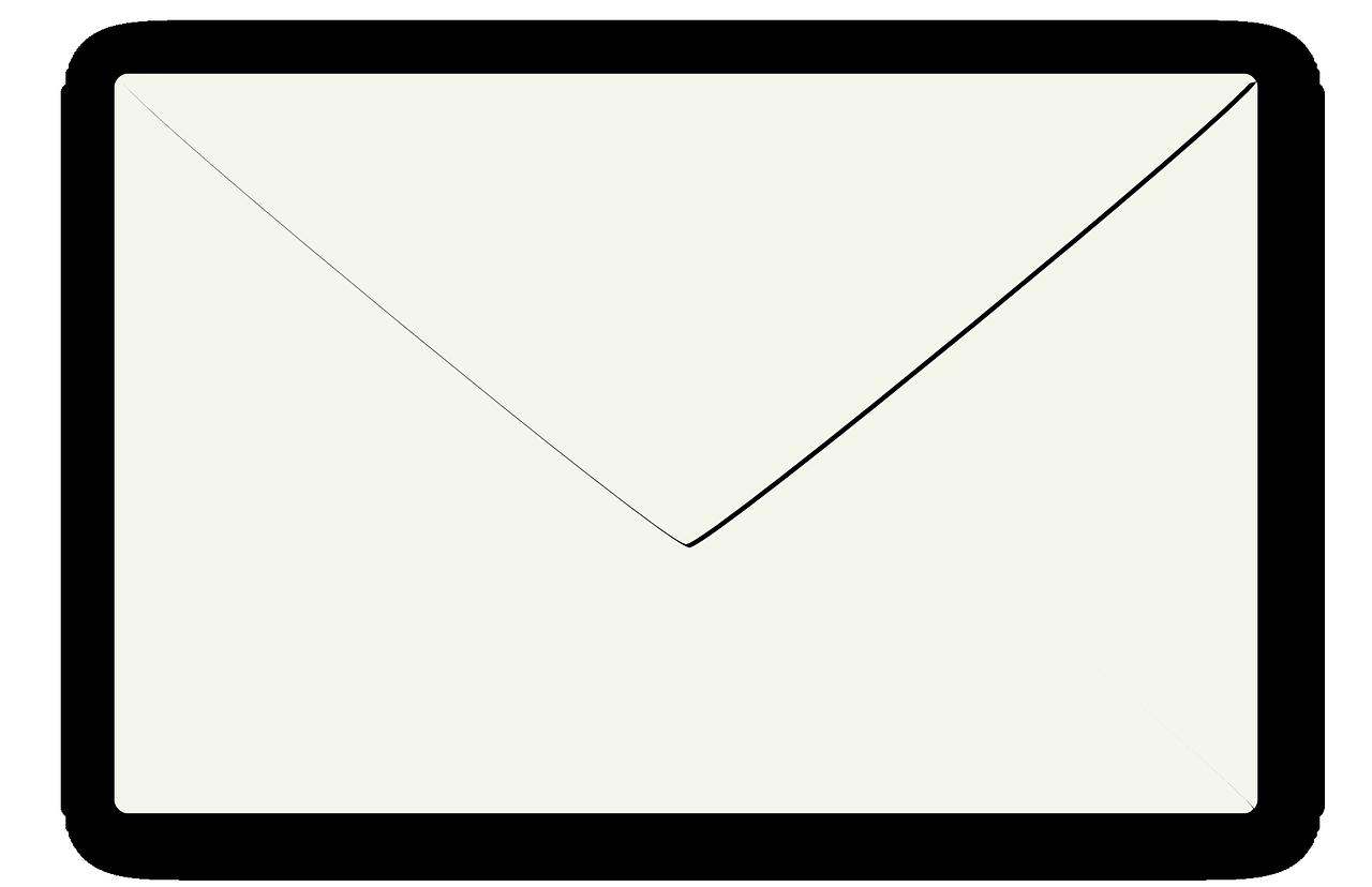 Рисунок конверта для письма