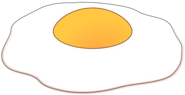 Fried Egg Food 183 Free Vector Graphic On Pixabay