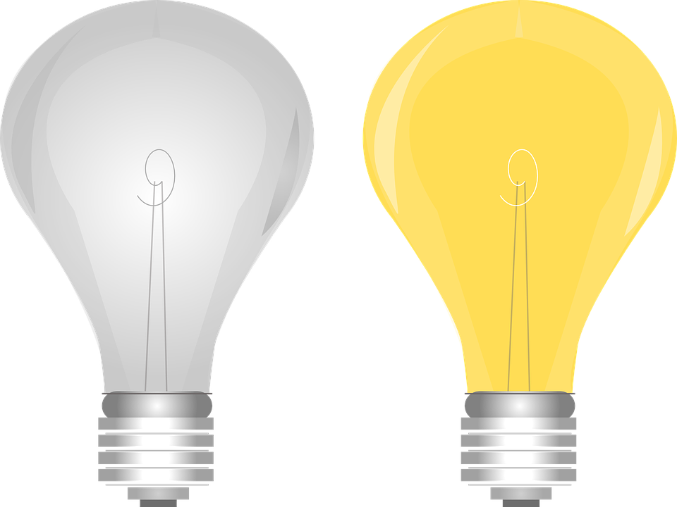 Free Vector Graphic Light Bulb Electric Free Image On Pixabay 146595