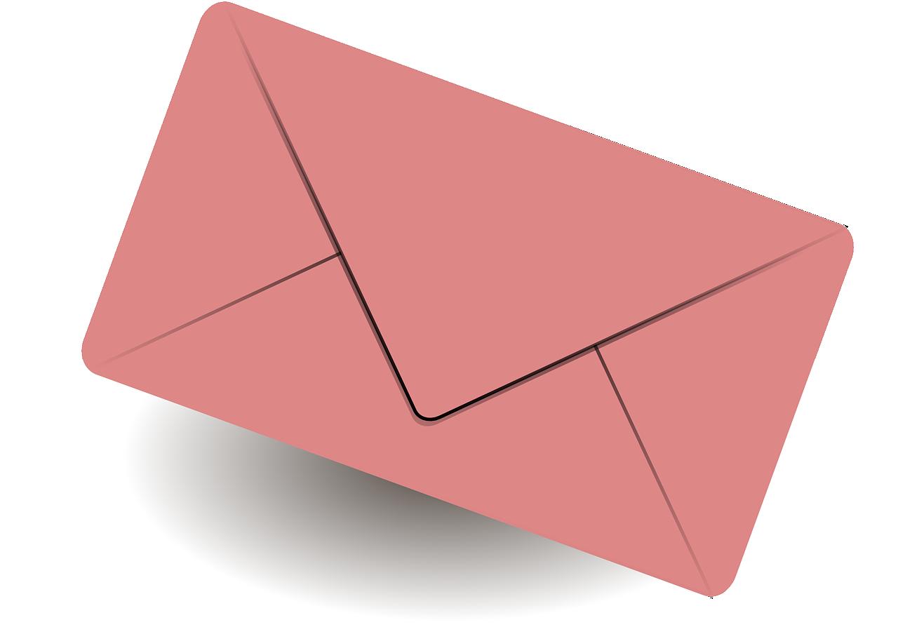 Картинка письма для презентации, днем