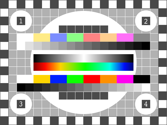 Free Vector Graphic Tv Test Pattern Test Picture Free