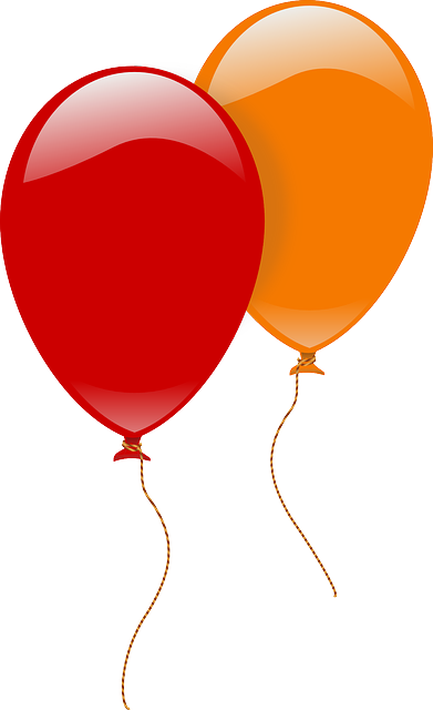 Balloons Party Red Free Vector Graphic On Pixabay