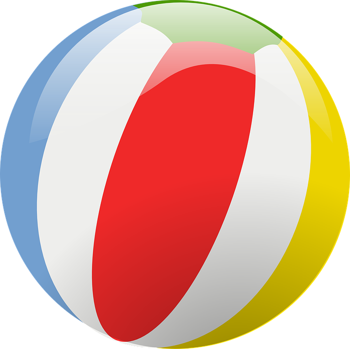 beach ball free vector graphic on pixabay rh pixabay com mac beach ball vector beach volleyball vector