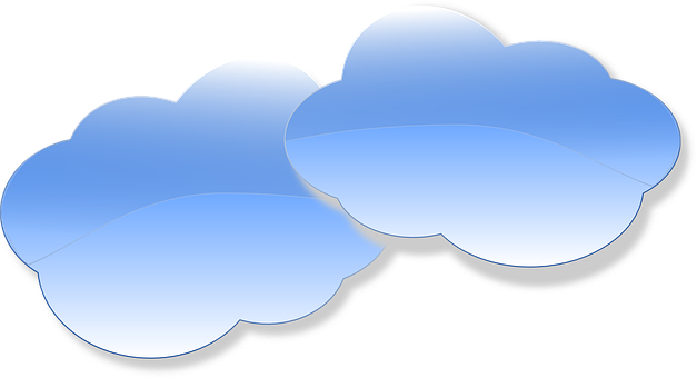 Clouds Weather Speech Bubbles Rain Gl