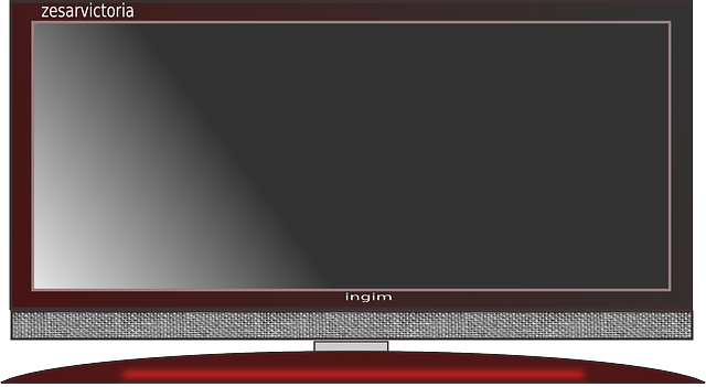 Flat Screen Television 183 Free Vector Graphic On Pixabay
