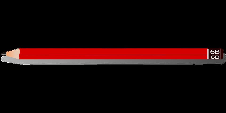 Blyant, Pen, Farve, Rød, Skrive, Forfatter