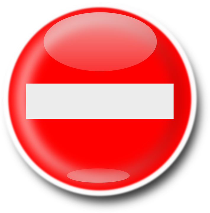 Delete No Access Denied Road 183 Free Vector Graphic On Pixabay