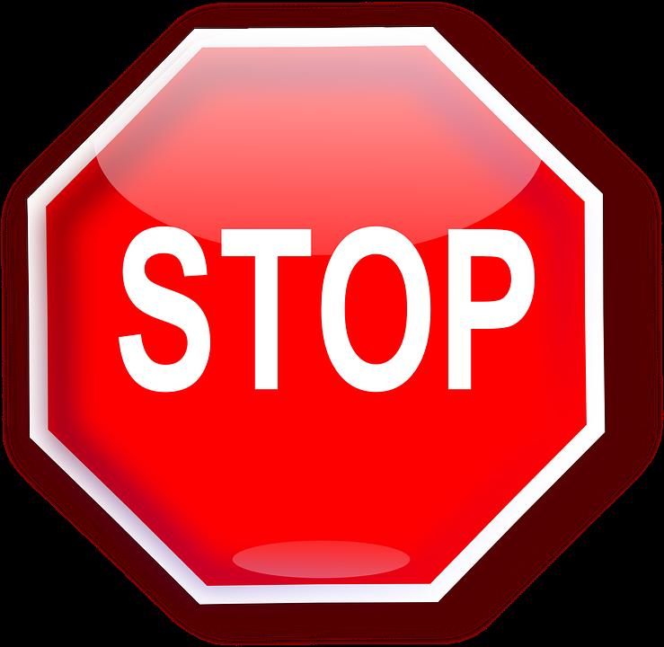 Image vectorielle gratuite stop panneau de signalisation image gratuite s - Panneau en polycarbonate transparent ...