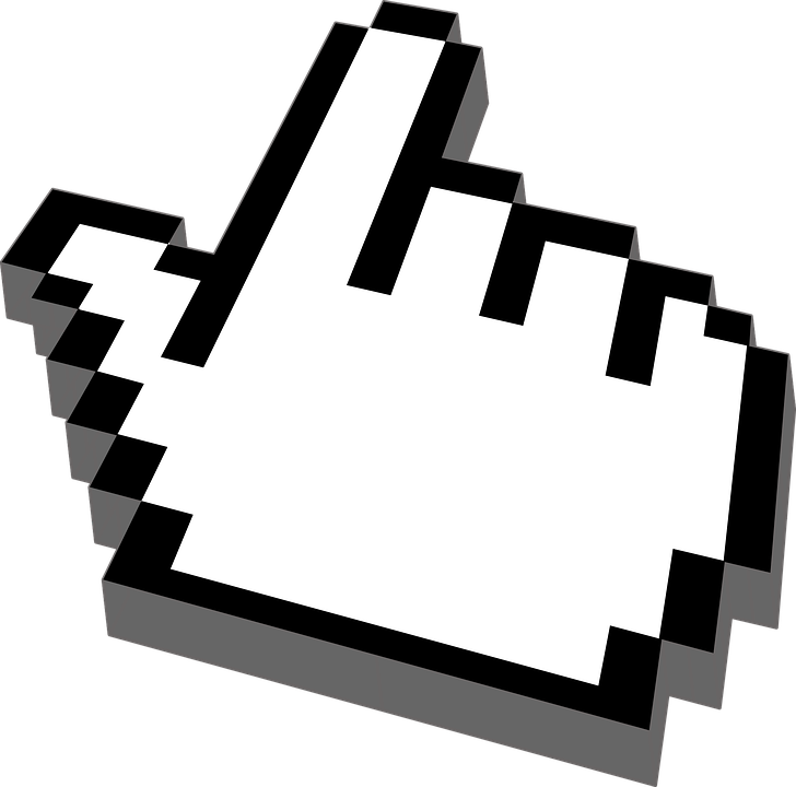 Hand Cursor Pointer · Free vector graphic on Pixabay Mac Mouse Hand Png