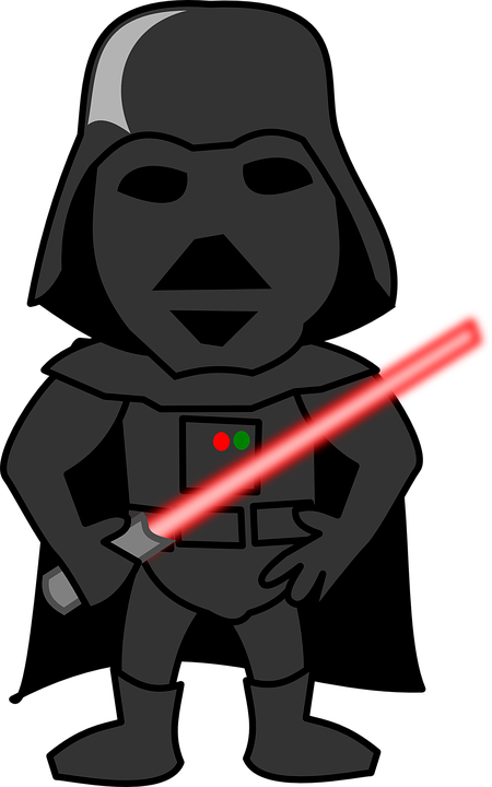 darth vader light sabre funny  u00b7 free vector graphic on pixabay darth vader clip art free darth vader clip art png