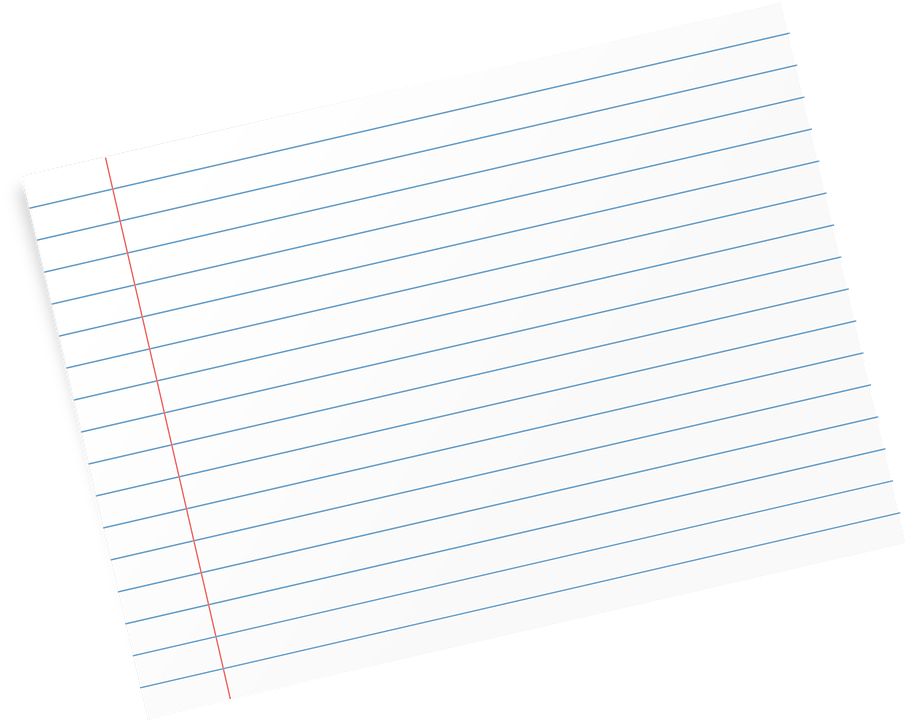 flash card paper lines free vector graphic on pixabay