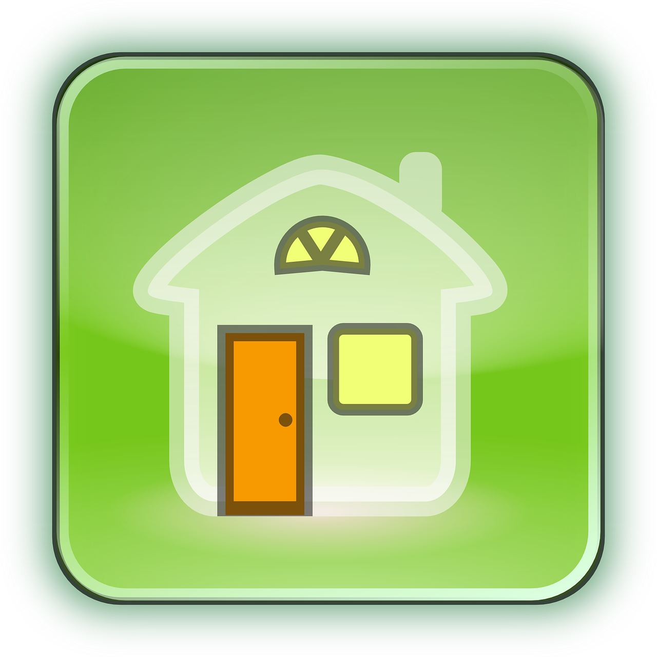 home house icon free vector graphic on pixabay https creativecommons org licenses publicdomain