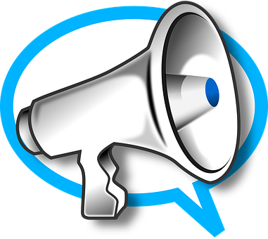 Megaphone Phone Speak Sound Marketing