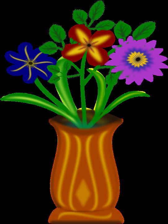 bloemen vaas gratis vectorafbeelding op pixabay. Black Bedroom Furniture Sets. Home Design Ideas