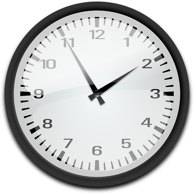 Clock Analog Time 183 Free Vector Graphic On Pixabay
