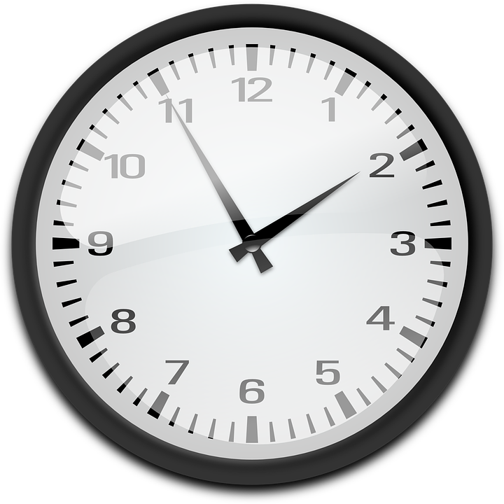 clock analog time free vector graphic on pixabay