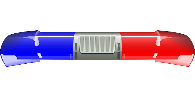 Free Vector Graphic Police Police Siren Blue Lamp