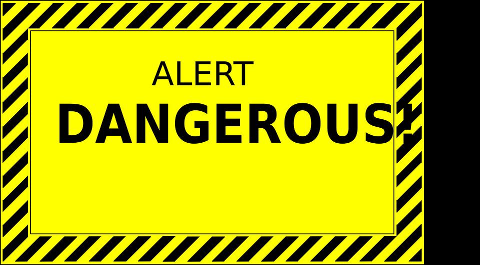 Danger Alert Warning 183 Free Vector Graphic On Pixabay