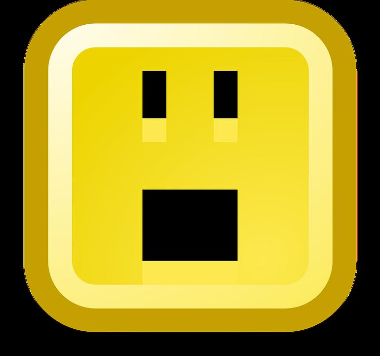 Stupito Scioccato Smiley - Grafica vettoriale gratuita su Pixabay