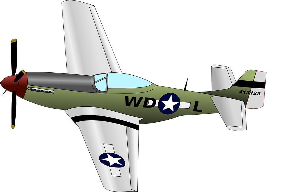 Mustang Airplane Aircraft Free vector graphic on Pixabay