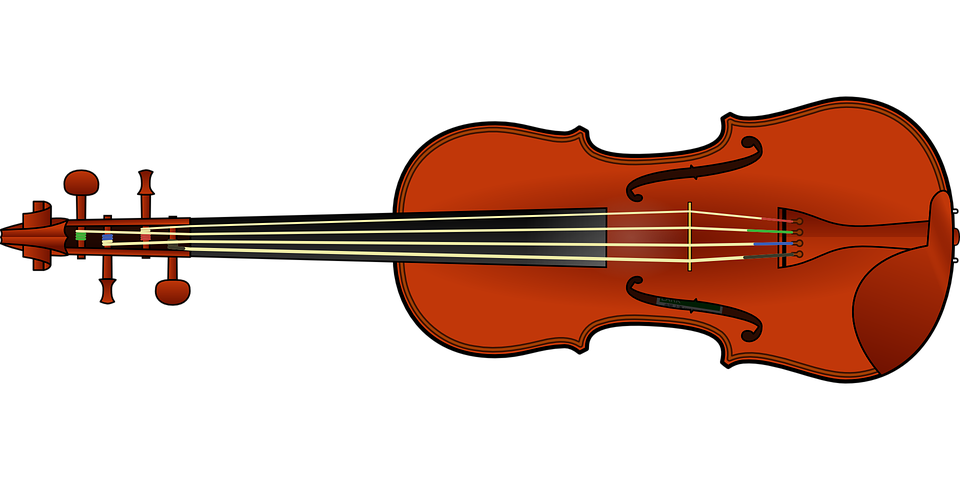 violin fiddle instrument · free vector graphic on pixabay