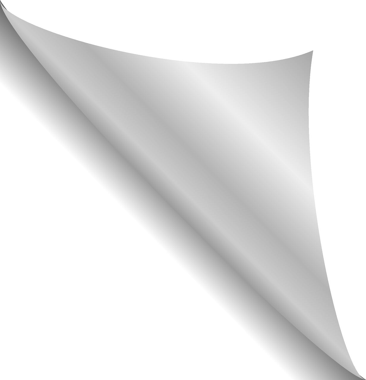 Картинка перевернутая страница