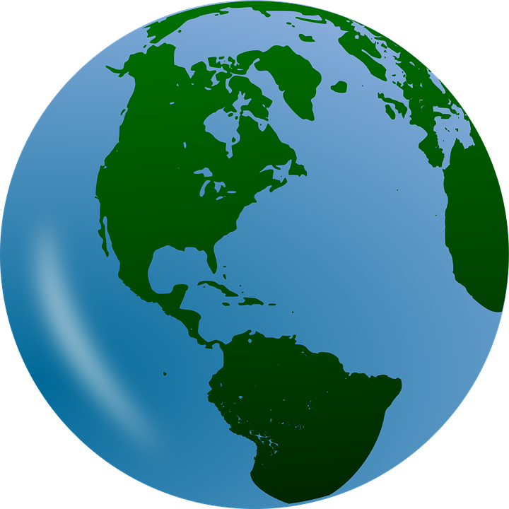 Free Vector Graphic Earth Globe Planet World Free Image On - World earth