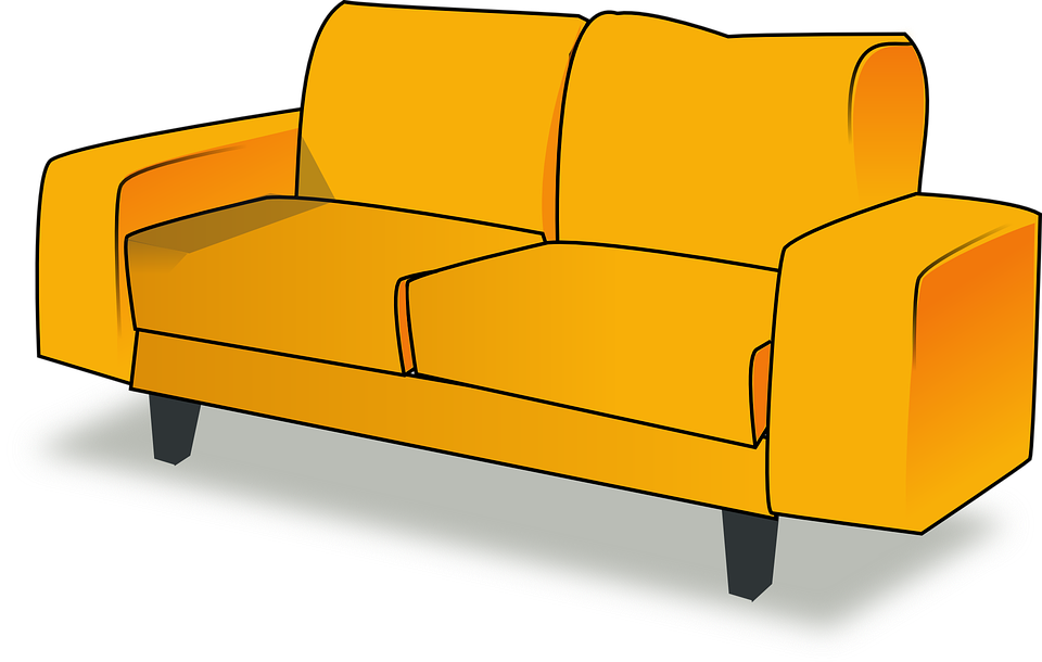 Settee Sofa Couch Furniture Livingroom Living Room