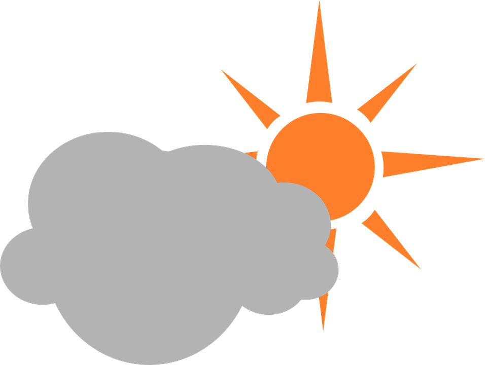 Cloud Sun Weather Free Vector Graphic On Pixabay