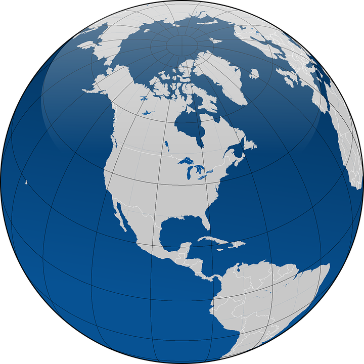 Free vector graphic Globe Earth Planet Continents Free Image