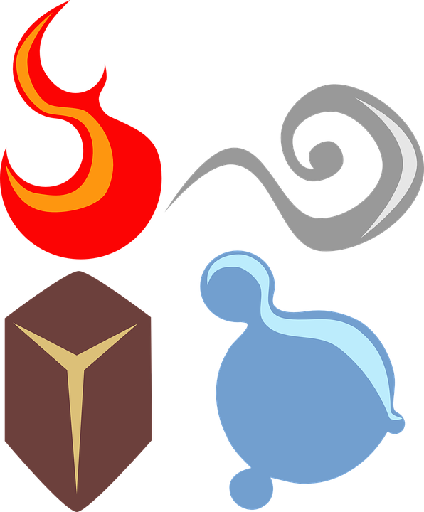 element luft symbol