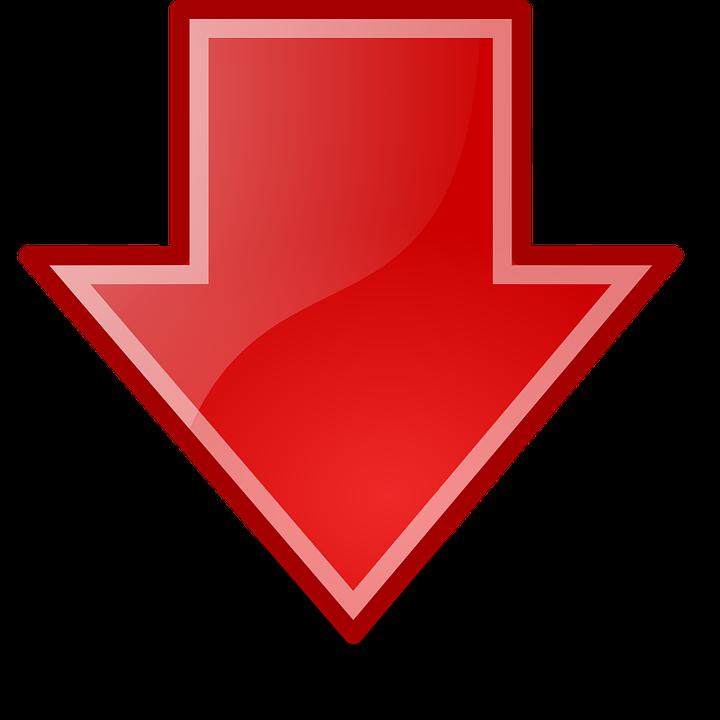 Frecce Verso Il Basso Scarica - Grafica vettoriale gratuita su Pixabay