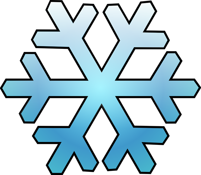 cold snow snowflake free vector graphic on pixabay rh pixabay com  white snowflake vector png