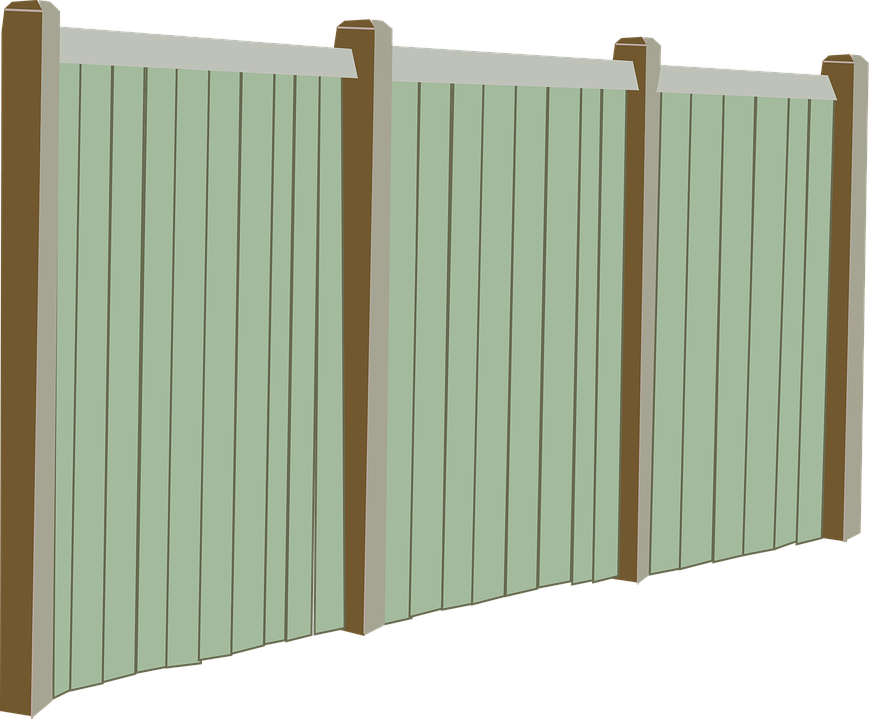 Fence Fencing Perspective · Free vector graphic on Pixabay
