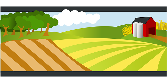 Agriculture Farm Landscape · Free vector graphic on Pixabay Green Road Sign Png