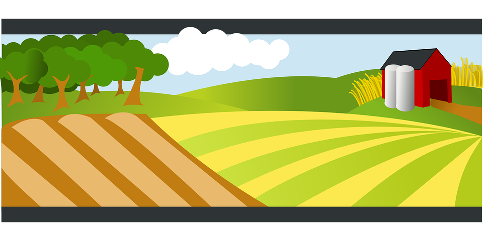Fence png transparent images png all - Free Vector Graphic Agriculture Farm Landscape Free