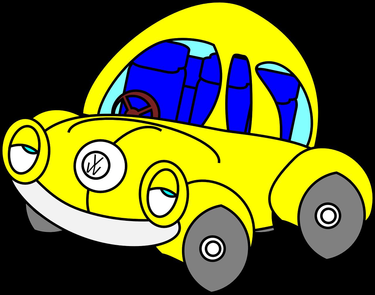 Прикольные картинки машины для детей