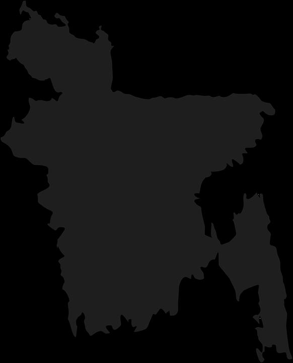 Free Vector Graphic Bangladesh Bengal Map Country Free Image - Bangladesh map