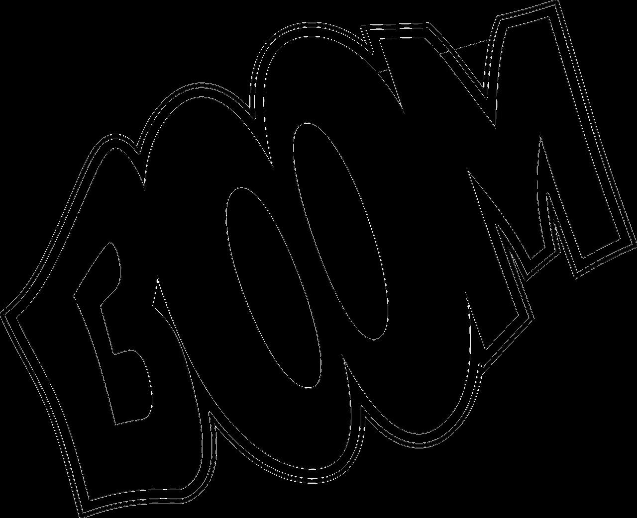 Preto Branco Explosao Grafico Vetorial Gratis No Pixabay