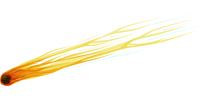 Meteor Shooting Star Debris · Free vector graphic on Pixabay