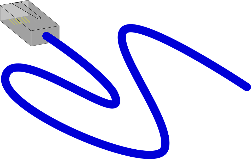 Ethernet Plug Cable · Free vector graphic on Pixabay