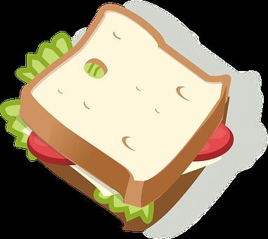 Sandwich, Diet, Eating, Food, Vegetarian