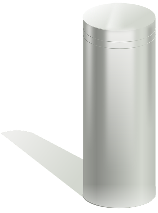 Cylinder Metal 183 Free Vector Graphic On Pixabay