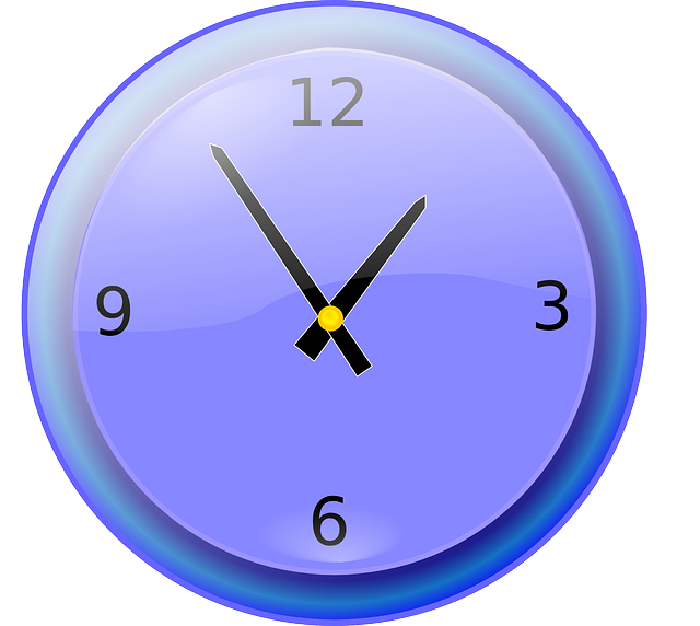 free vector graphic analog clock hands time clock. Black Bedroom Furniture Sets. Home Design Ideas