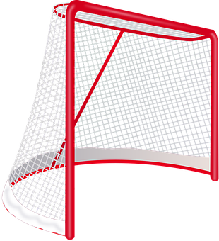 Hockey, Goal, Net, Sports, Hockey