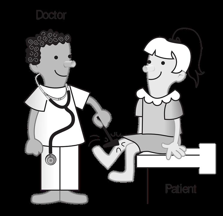 Refleks, Ludzi, Lekarza, Pacjent, Medycyna