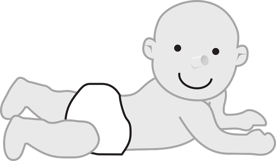 Baby Diaper Suckling Free Vector Graphic On Pixabay